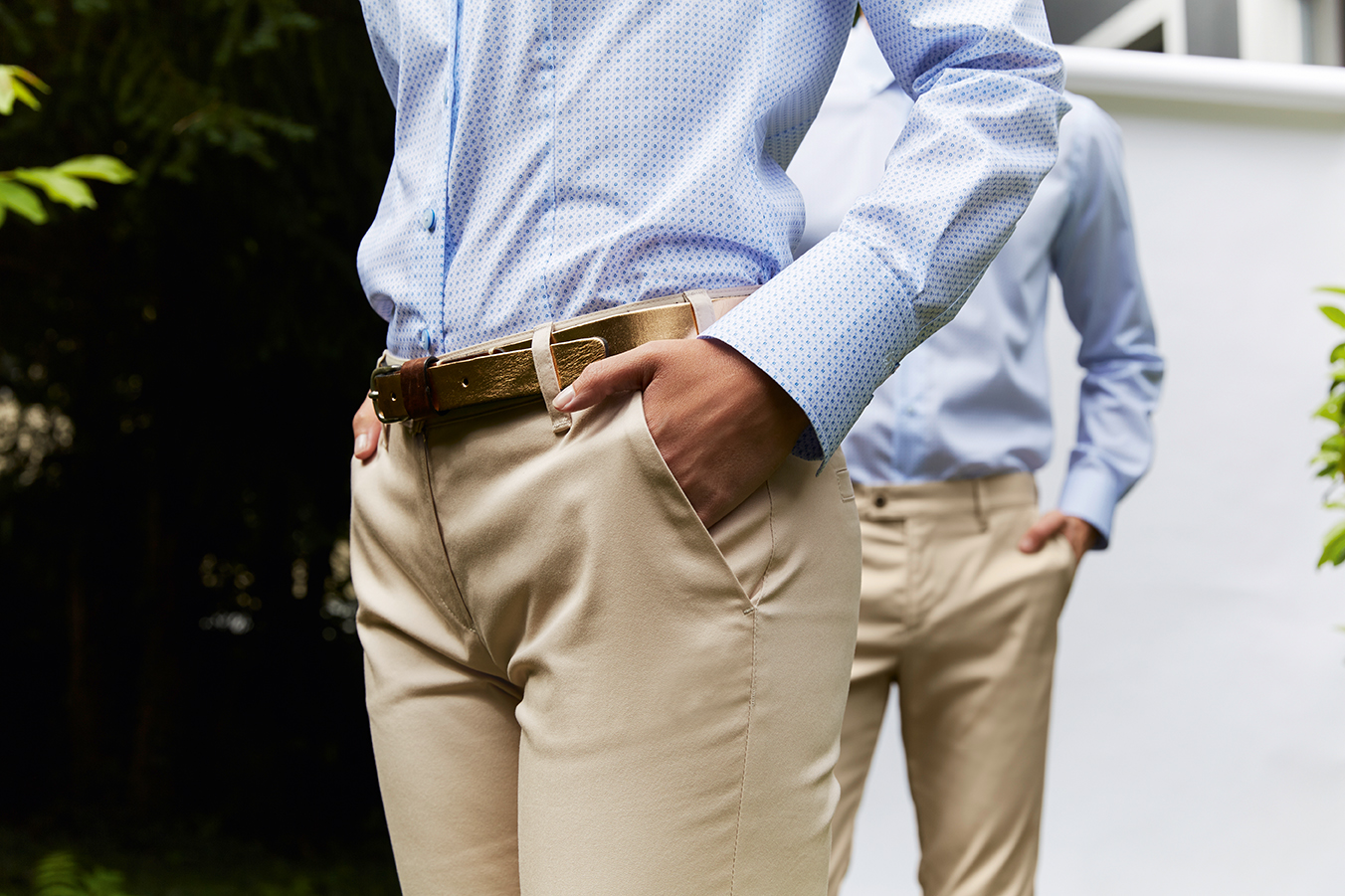 Casual Chinos Beige