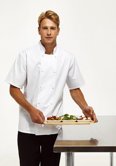Kochjacke mit-Halbärmel