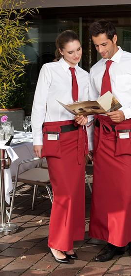 Teambekleidung Bistroschürze Gastronomie