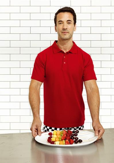 farbiges Polo Shirt für Herren