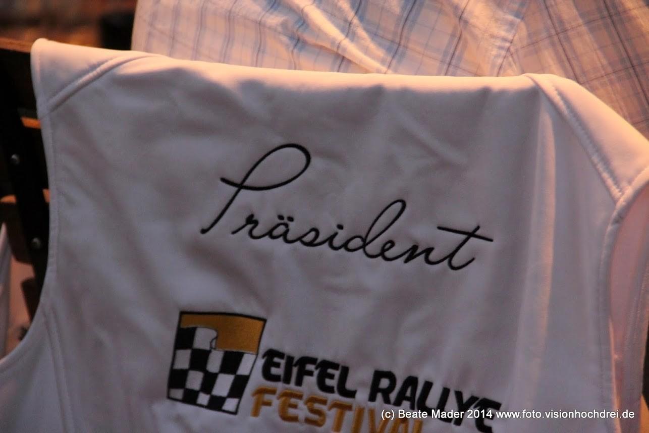 Softshellwesten mit Stickerei für das Eifel Rallye Festival