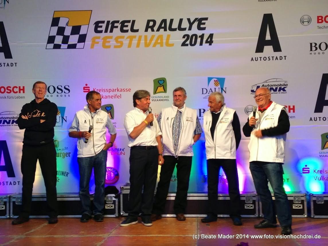 Bestickte Softshellwesten für das Eifel Rallye Festival