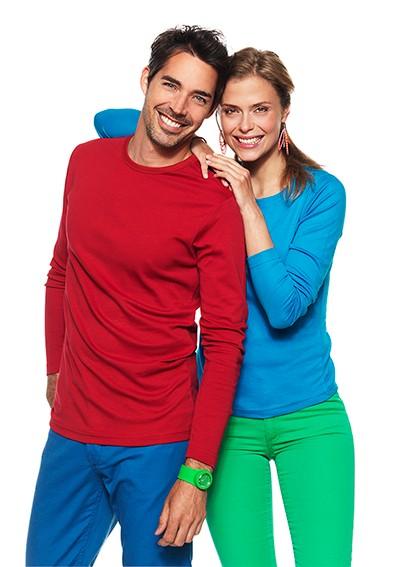 Team-Messebekleidung - farbe Longsleeves für Damen und Herren