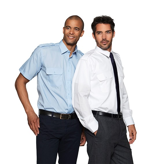 Teambekleidung-Service Halb-und-Langarm-Hemden