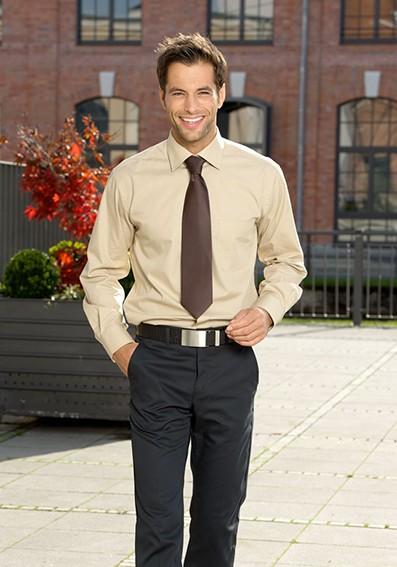 Krawatte mit Hemd Herren -Servicebekleidung
