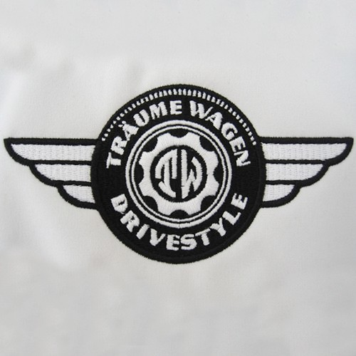 Logo gestickt auf Softshelljacke