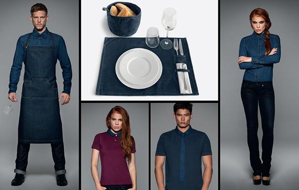 Jeans-Berufsbekleidung für Gastronomie