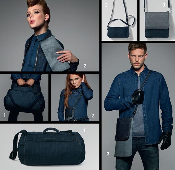 Taschen aus Jeansstoff