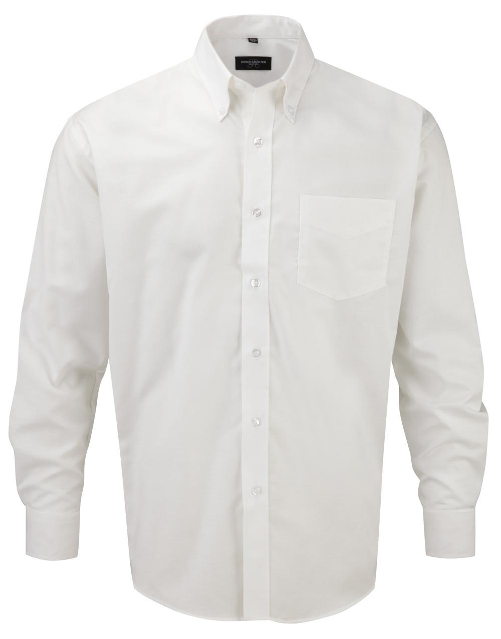 klassiches Hemd weiß langarm