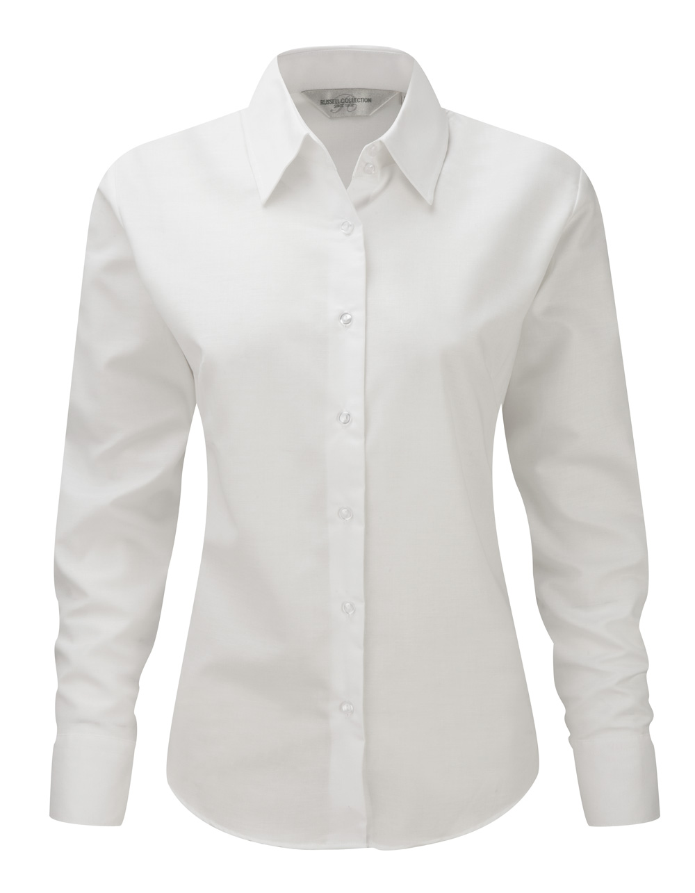 langarm bluse weiß
