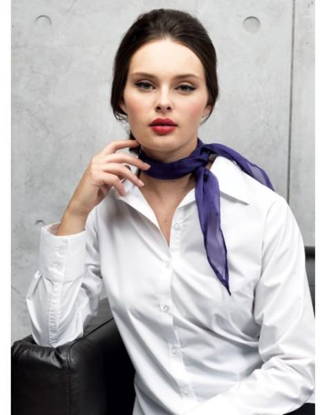 lila chiffon schal model