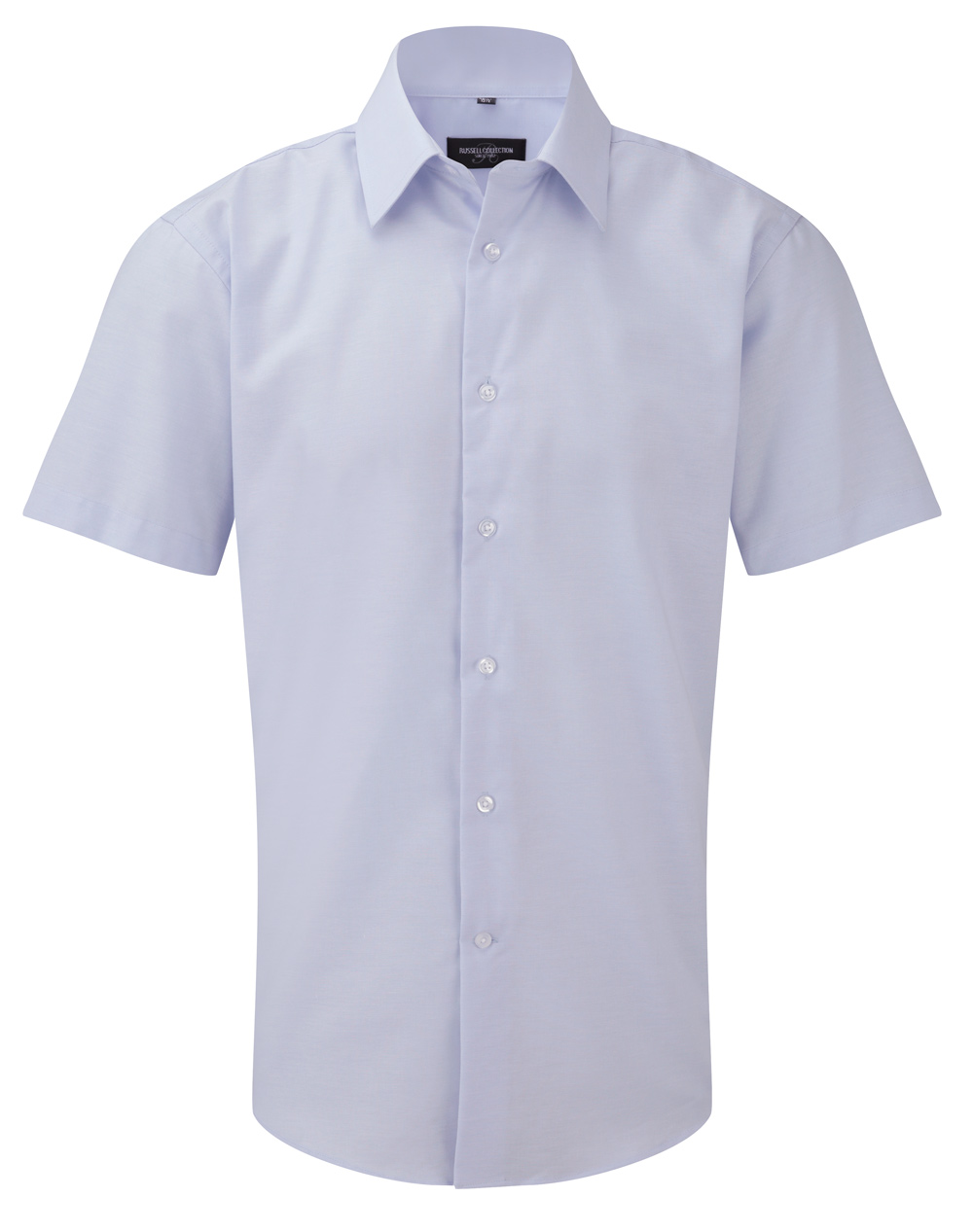 oxford hemd kurzarm blau